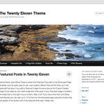 WordPress Twenty Eleven Tema