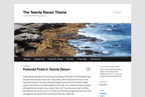 WordPress Twenty Eleven Tema