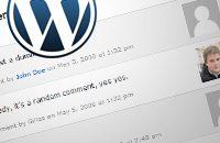 WordPress kommentarer